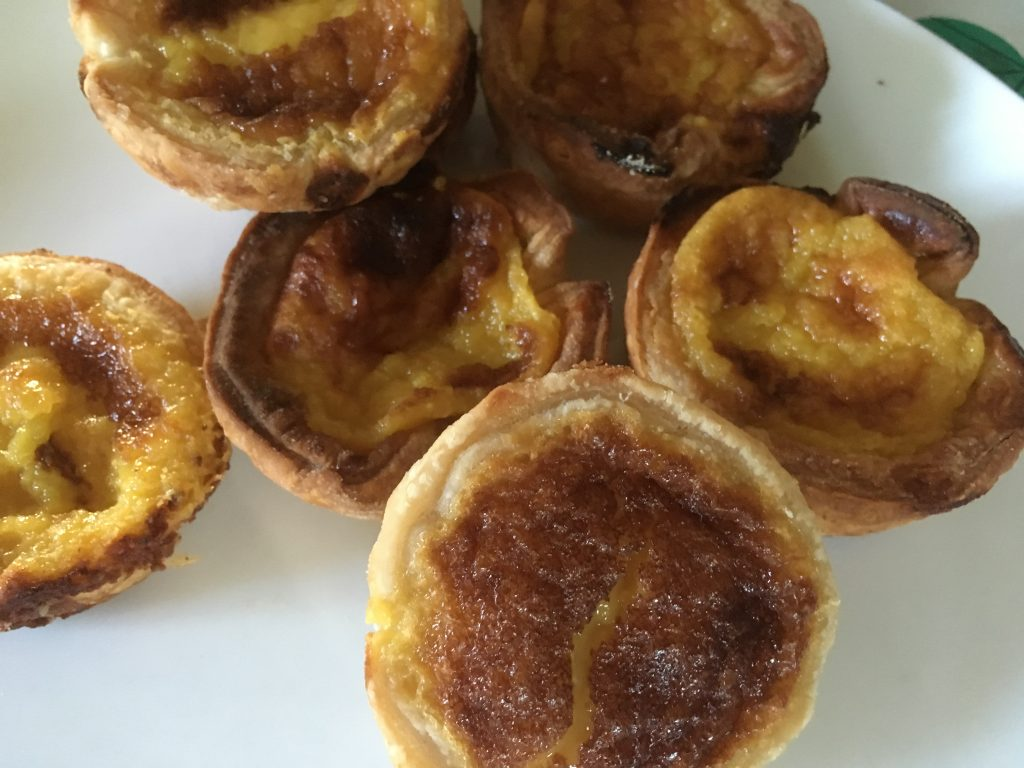 Portuguese custard tarts, or things to do with eggs
