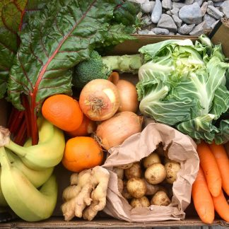 Medium sized fruit and veg box