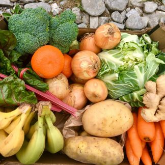 Large sized fruit and veg box
